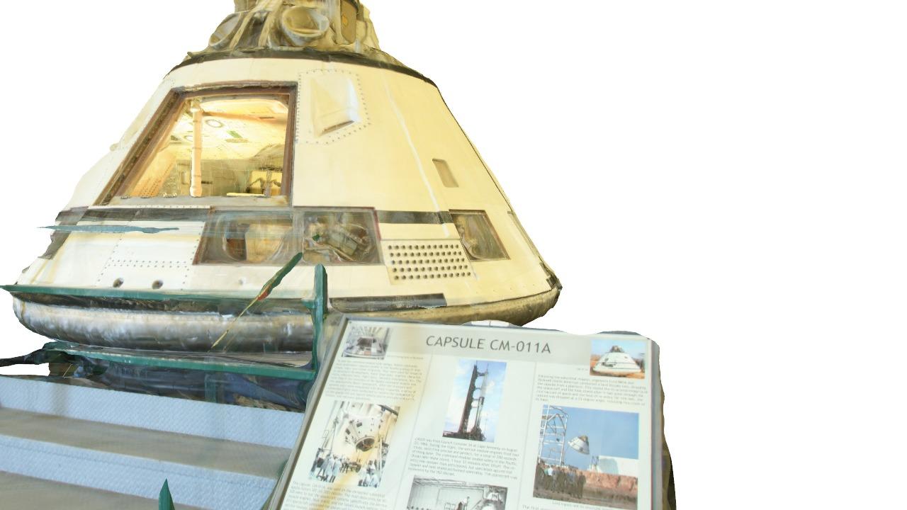 Apollo Capsule CM-011A|Autodesk Online Gallery
